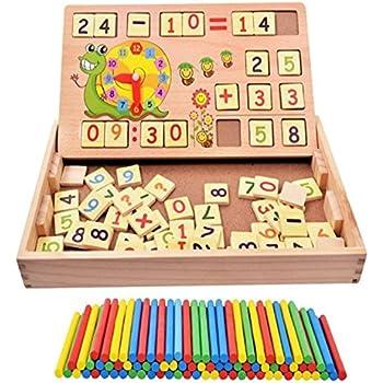 Baby Kids Hundred Board Winzik Montessori 1-100 Consecutive Numbers Toys Gift YI