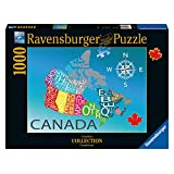 Ravensburger Colourful Canada Canadian Collection Canadienne Puzzle (1000-Piece)