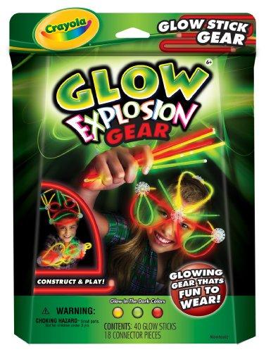 Crayola Glow Explosion Glow Stick Gear ()