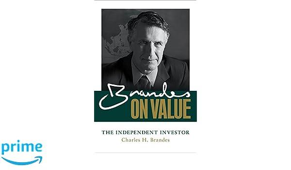 Brandes on Value: The Independent Investor: Amazon.es: Charles Brandes: Libros en idiomas extranjeros
