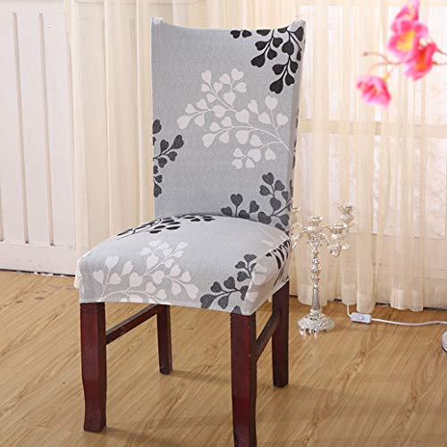 SGHOME Chair Covers Beautiful Pattern Spandex Removable Stretch Modern Restaurant Home Decoration Slipcovers Slipcovers ()
