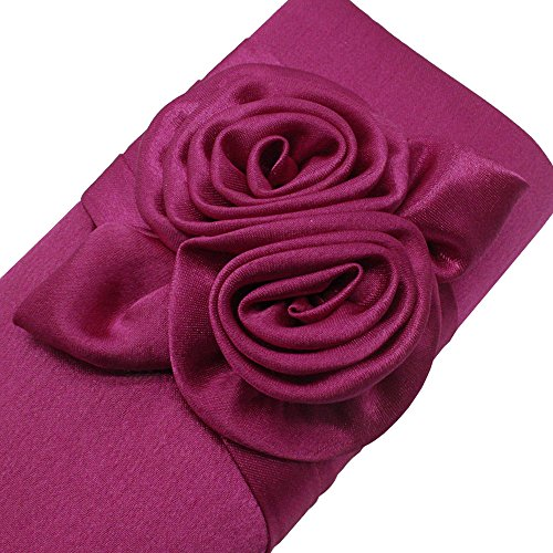Clutch Wiwsi Floral Party Evening Fashion New Handbag Lady Prom Satin Bag Bridal pFq46Fw