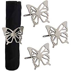 TAG Butterfly Napkin Rings, Set of 4 (202327)