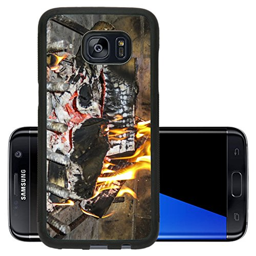 Luxlady Premium Samsung Galaxy S7 Edge Aluminum Backplate Bumper Snap Case IMAGE ID: 34522496 amazing home fire gives a warm feeling