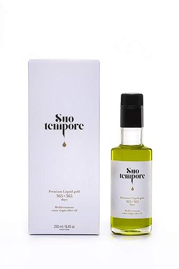 Suo Tempore Aceite de oliva virgen extra premium en estuche. 250 ml.