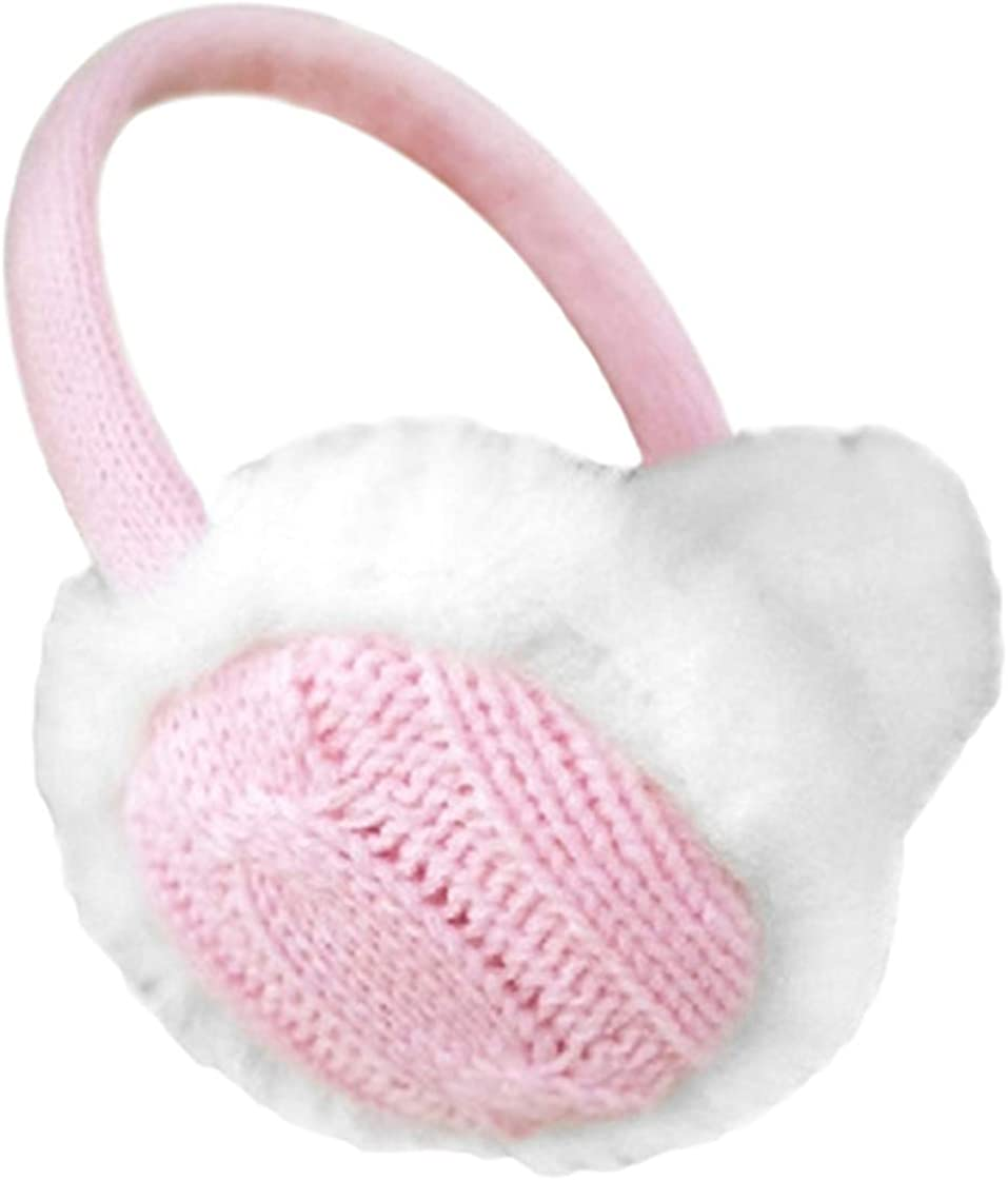 Women Winter Warm Knit Earmuffs Ear Warmers Headband