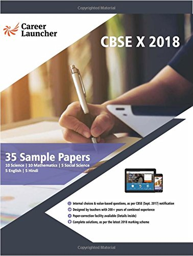 35 sample papers for class 10 cbse 2018 all subjects amazon 35 sample papers for class 10 cbse 2018 all subjects amazon career launcher books fandeluxe Choice Image