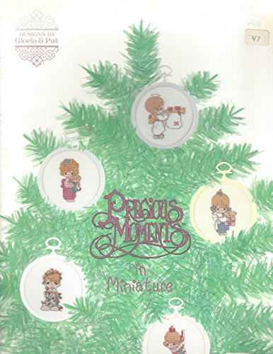Precious Moments in Miniature (Pm 23 Vol. 2) Cross Stitch Patterns.