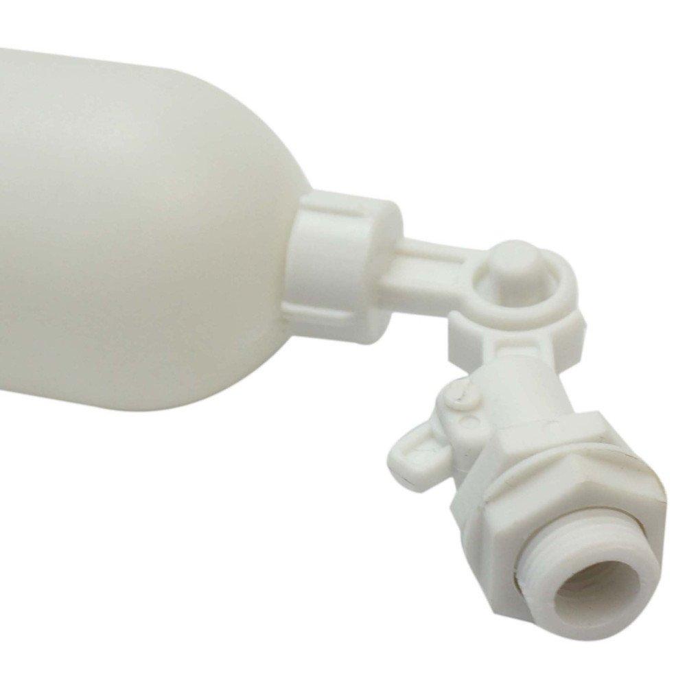 1x Blanco Plástico Flotador Válvula Acuario Pecera RO DI Sistema Ósmosis Inversa Ajustable: Amazon.es: Bricolaje y herramientas