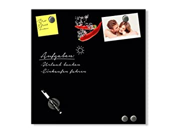 Graz Design® Glas-Magnettafel für Küche | Magnet - Schreibtafel aus ...