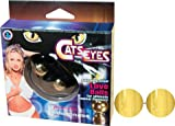 Gift Set Of CATS EYES-GOLD And a Bottle of Astroglide 2.5 oz