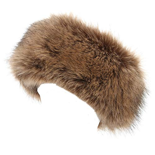 La Carrie Faux Fur Headband with Stretch Women's Winter for sale  Delivered anywhere in USA