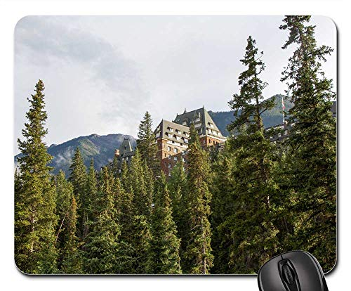 Mouse Pad - Banff Springs Hotel Banff Alberta Canada Forest (Hotels Canadian National)