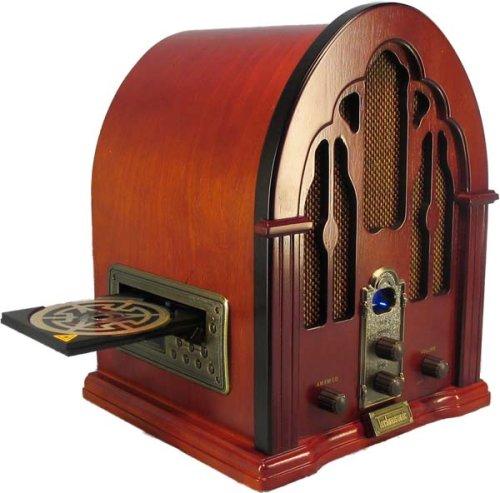 Replica 1933 G.E. Cathedral Style AM/FM Radio & CD Player