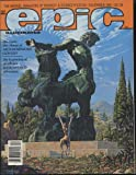 Epic The Marvel Magazine of Fantasy & Science-Fiction December 1981 (Vol 1, No 9)