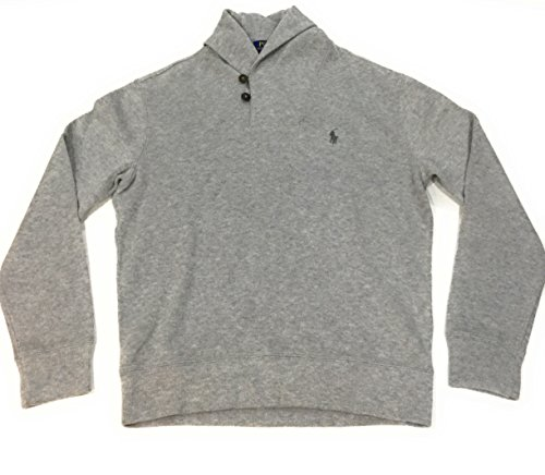 Polo Ralph Lauren Mens French Rib Shawl Neck Sweater (Small, Andover - Ralph Polo Online Lauren Usa