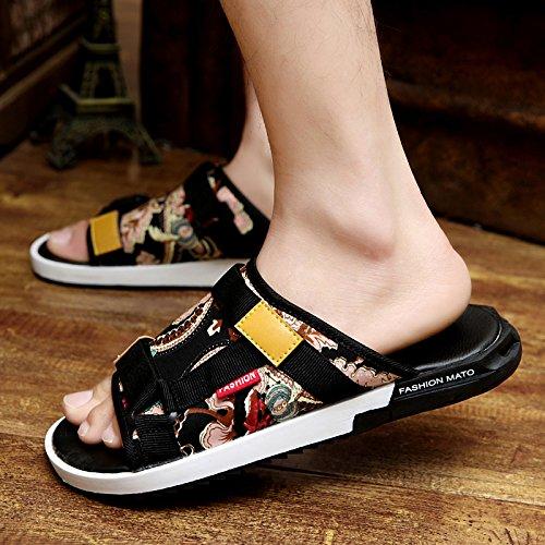 Xing Lin Sandalias De Hombre Zapatillas De Verano Masculino Flip Flops Sandalias Sandalias De Hombres Hombres Hombres Sandalias Antideslizantes De Nuevo Retro