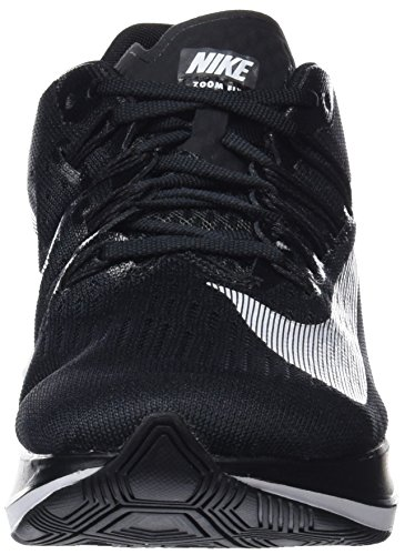 Nike Women s WMNS Zoom Fly, Black White, 6.5 M US