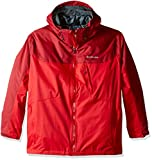 Columbia Men's Whirlibird Interchange Jacket, Mountain Red/Jester Red, 4X