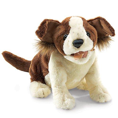 UPC 638348029805, Folkmanis Lucky Dog Hand Puppet