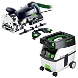 Festool PD574447 Domino XL Joiner Set with CT MIDI 3.3 Gallon Mobile Dust Extractor