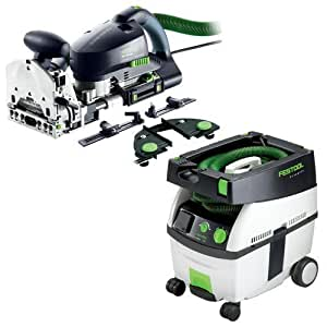 festool pd574447 domino xl joiner set with ct midi 3 3 gallon mobile dust extractor power. Black Bedroom Furniture Sets. Home Design Ideas