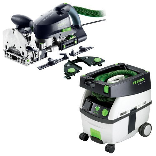 Festool PD574447 Domino XL Joiner Set with CT MIDI 3.3 Gallon Mobile Dust Extractor by Festool