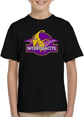 Cloud City 7 Interodactyl Pride Dinosaur Kid's T-Shirt