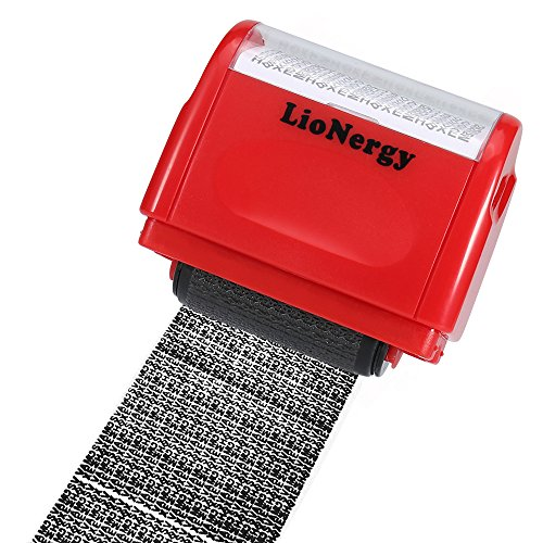 - Identity Protection Roller Stamp Lionergy 1.5 Inch Wide Roller Identity Theft Prevention Security Stamp