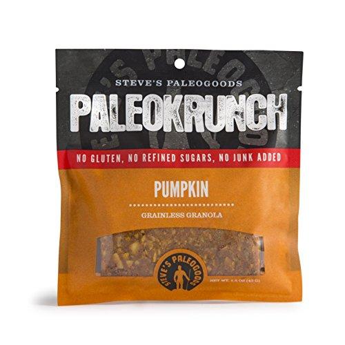 Steve's PaleoGoods Pumpkin PaleoKrunch Bar 1.5oz (case of 3)