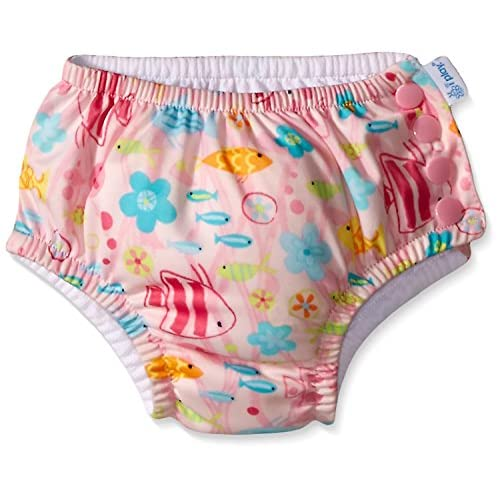 i play UPF 50+ protection Snap Reusable Swim Diaper No other diaper necessary