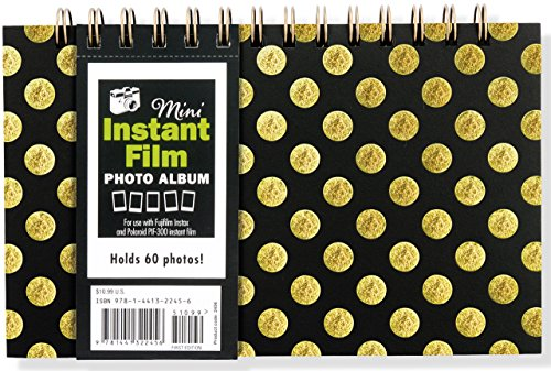 Mini Instant Film Photo Album: For Use with Fujifilm Instax and Polaroid PIF-300 Instant Film