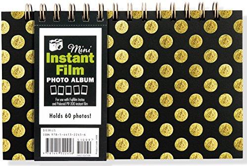 Instant Film Photo Album (for Fujifilm Instax Mini 7, Mini 8, Mini 25, Mini 50, Mini 90 Neo Classic, Polaroid PIF-300)