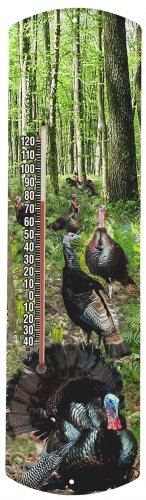 Heritage America by MORCO 375SG Spring Gobbler Outdoor or Indoor Thermometer, 20-Inch -