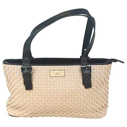 Paris Hilton ACC-1010 No. BAVO0237 PH Voyage Line Hand Bag for Women44; Antique Rose