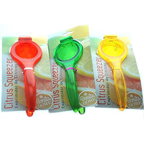 Amazon.com - DollarItemDirect BH Lemon Squeezer Asst Colors, Case of 24 -