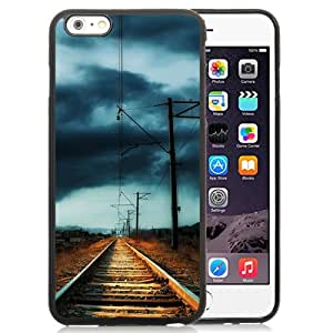 Countryside Railway Storm Durable High Quality iPhone 6 Plus 5.5 Inch TPU Case