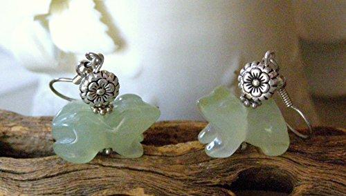 (Handmade New Jade Green Hand Carved 1