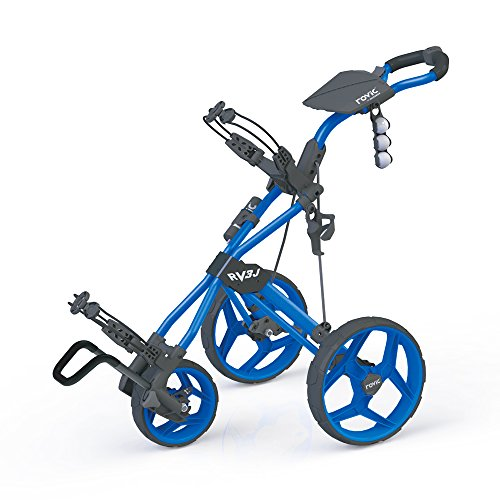 Clicgear Rovic RV3J Push Cart, Blue (Cart Golf Youth)