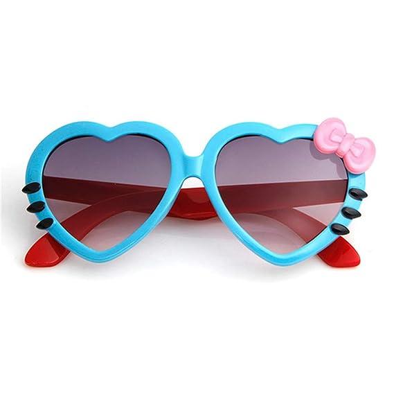 Wang-RX Dibujos animados de verano Corazón lindo Arco Gafas ...