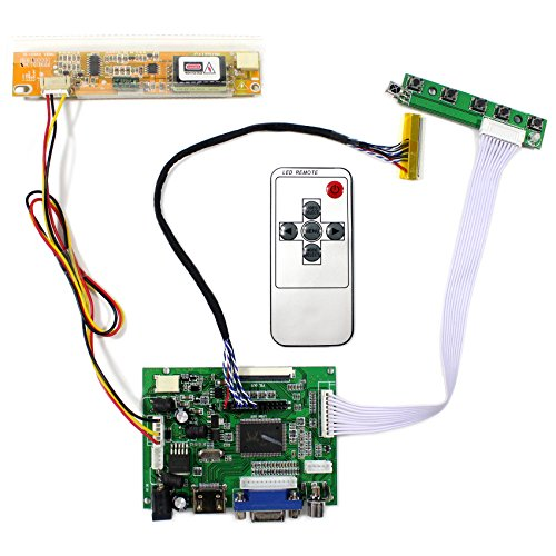 VSDISPLAY HDMI+VGA+2AV LCD Controller Board Work For 14.1 15.4 LTN141AT01 LTN154W1 1280x800 1CCFL 30Pin LCD Panel