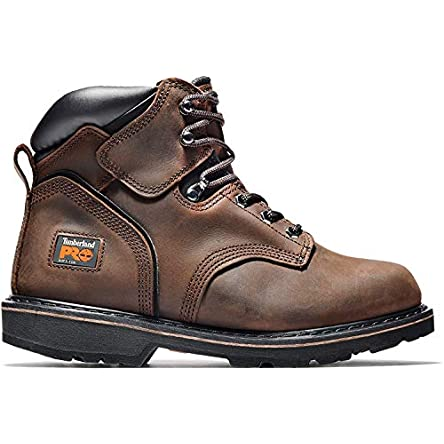 Timberland PRO Men's 6″ Pitboss Steel-Toe...