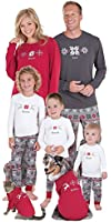 Classic Holiday Nordic Matching Pajamas for the Whole Family