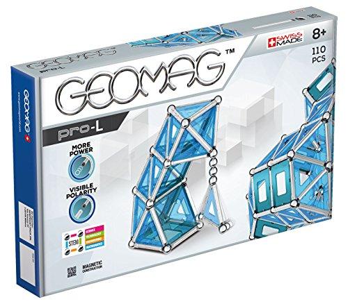 Geomag Pro-L Kit – 110 Piece Magnetic Construction Set