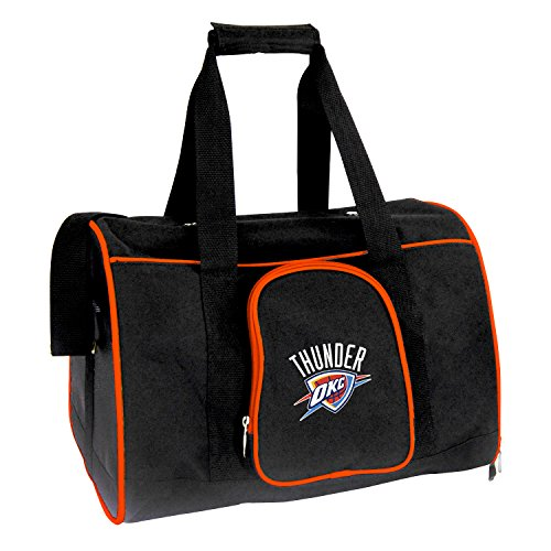 Denco NBA Oklahoma City Thunder Premium Pet Carrier by Denco