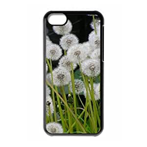 Dandelion Brand New Cover Case for Iphone 5C,diy case cover ygtg515471