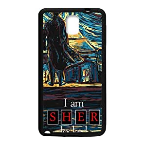 Happy Sher locked Cell Phone Case for Samsung Galaxy Note3