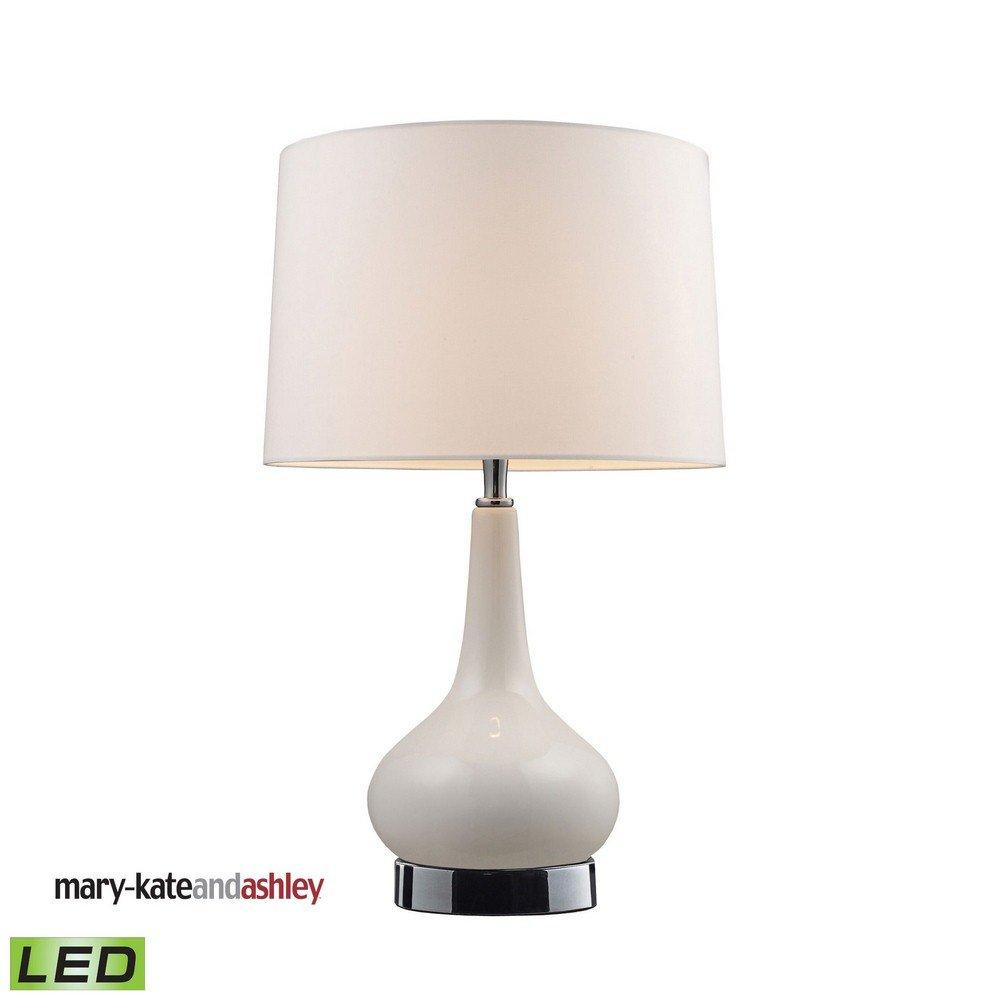 Dimond 3925/1-LED Continuum Table Lamp, 1-Light LED 9.5 Watts, White