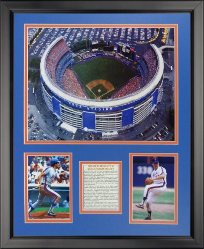 Legends Never Die New York Mets - Shea Stadium Framed Photo Collage, 16