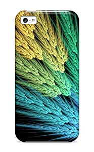 Hot Snap-on Fractal Hard Cover Case/ Protective Case For Iphone 5c